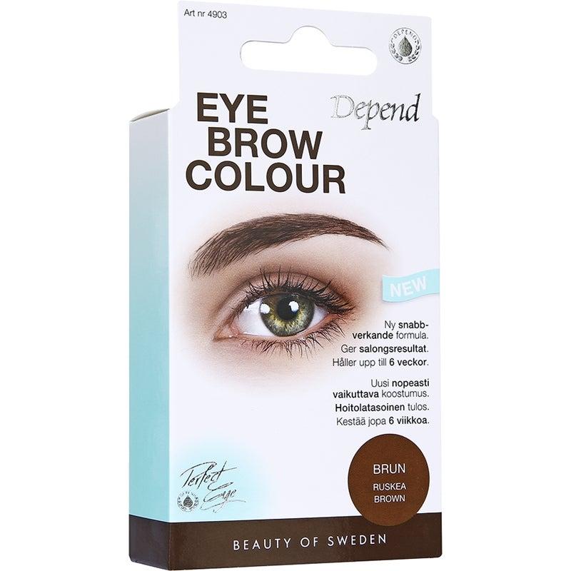 depend ögonbrynsfärg